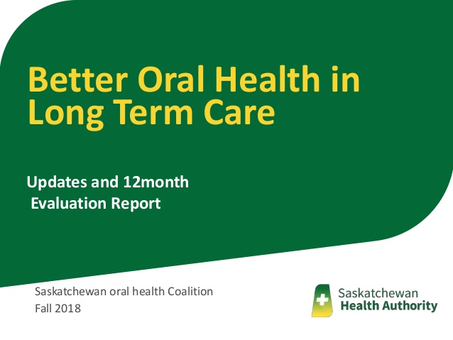 better oral health in long term care