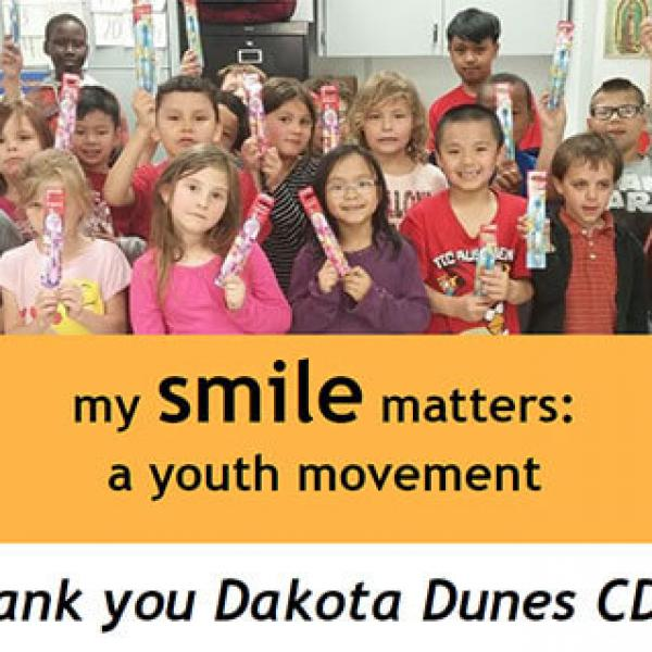 Thank you Dakota Dunes CDC!